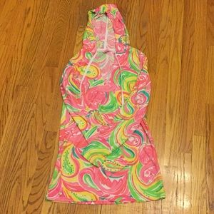 Lilly Pulitzer tarry cloth tunic